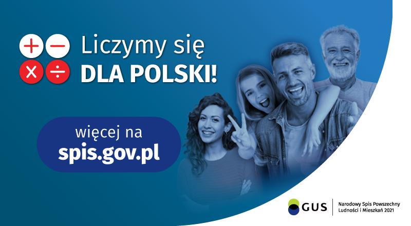 Zapraszamy wszystkich mieszkańców Gminy Lubań do dokonania spisu w Narodowym Spisie Powszechnym Ludności i Mieszkań 2021.